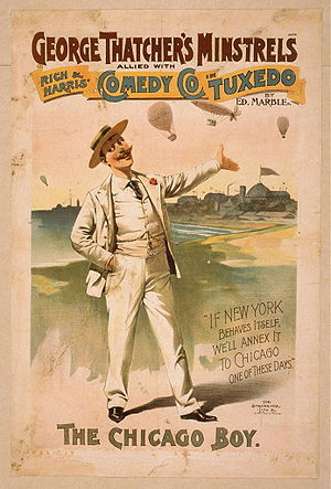 Tuxedo production poster